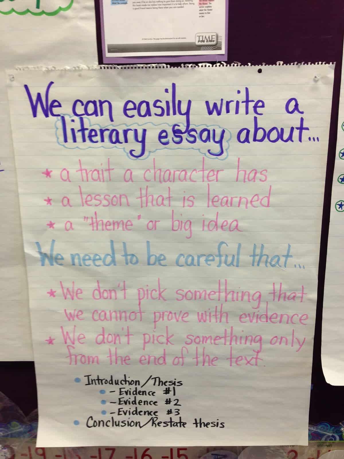 Literary Essays Digging Deeper  The Teacher Studio Literary Essays Digging Deeper