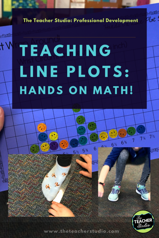 line plot activities, line plot lessons, teaching line plots