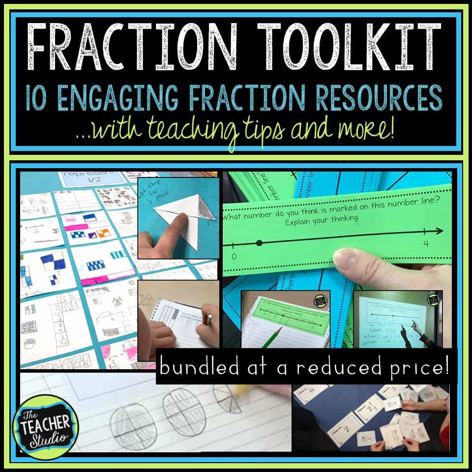 teaching fractions, equivalent fractions, standards for mathematical practice, fraction lessons, fraction activities