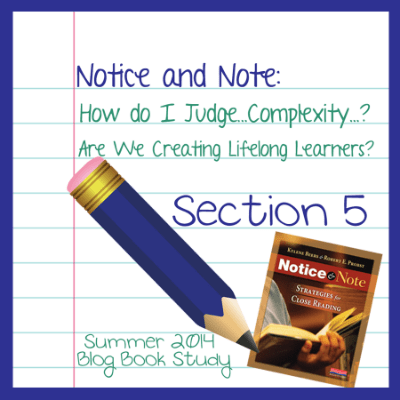 2014 Notice and Note Book Study