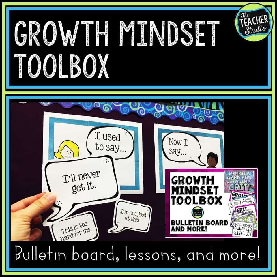 Growth mindset lessons, activities, and resources