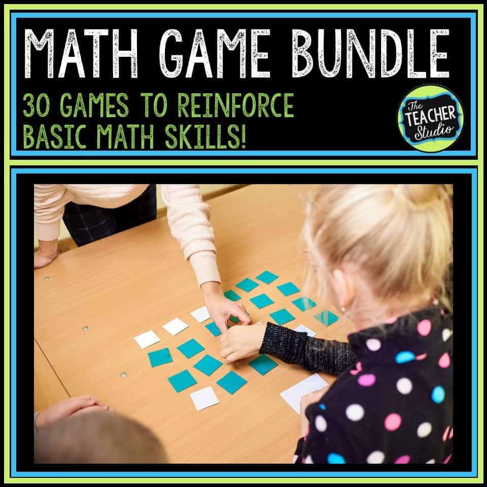 Math Game Bundle