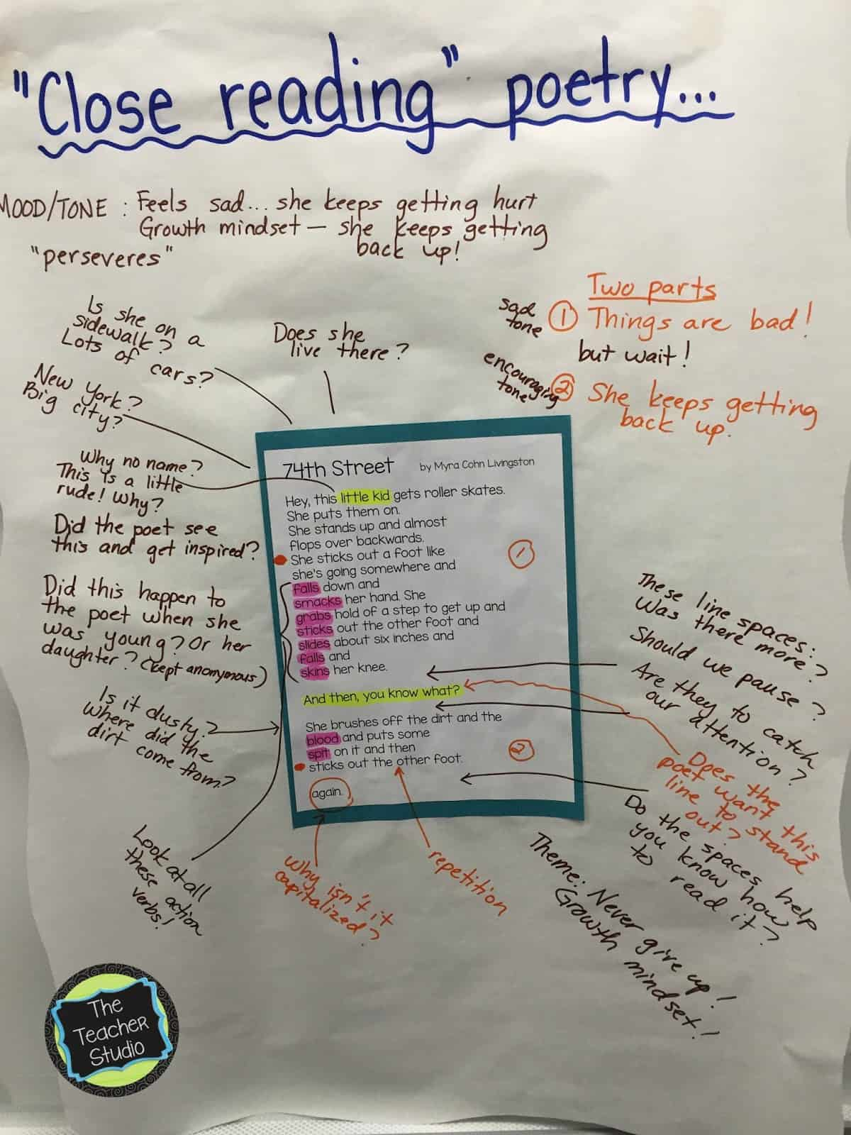 Kicking Off Our Poetry Stu S The Teacher Studio