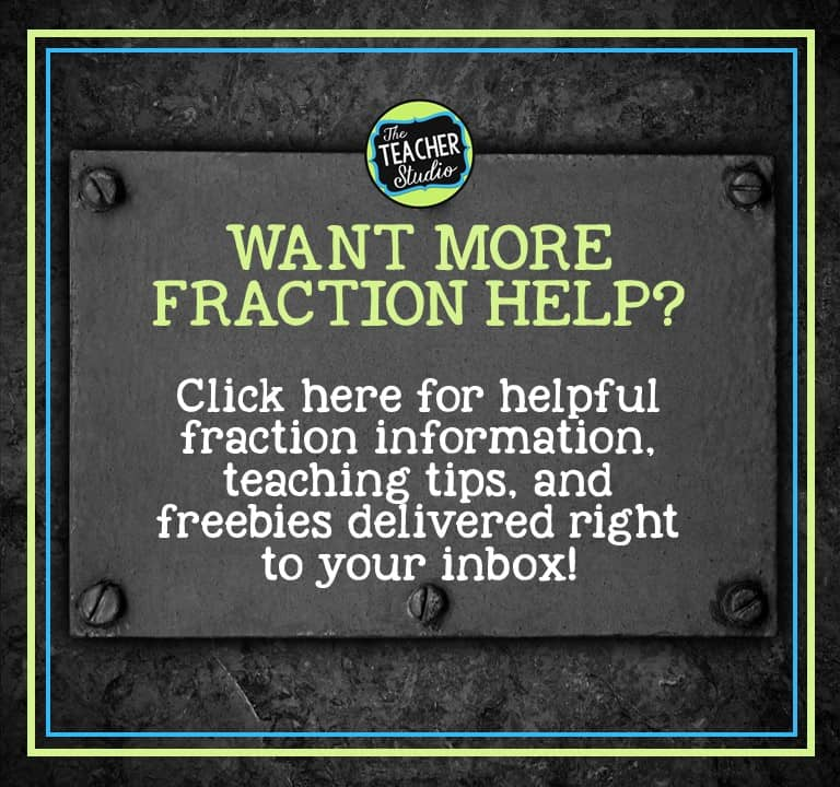teaching fractions, fraction lessons, fraction teaching tips, grade 3 fractions, grade 4 fractions