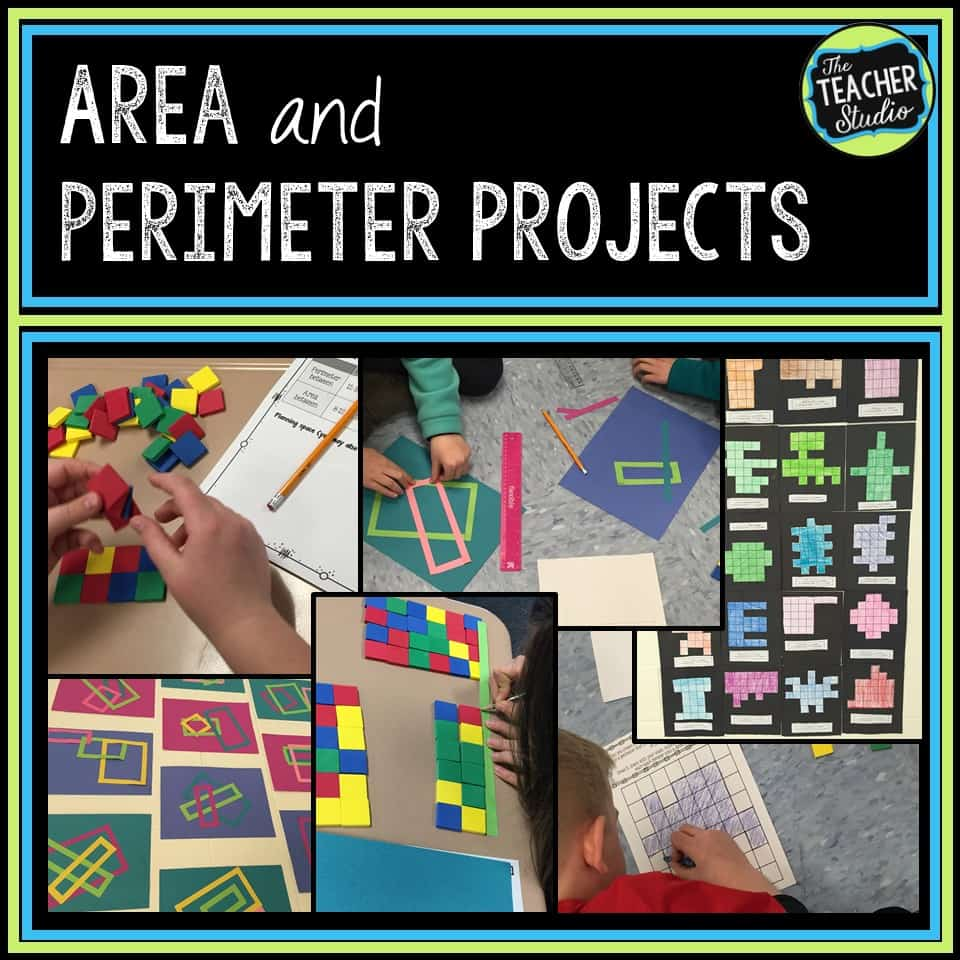 Fun area and perimeter math projects