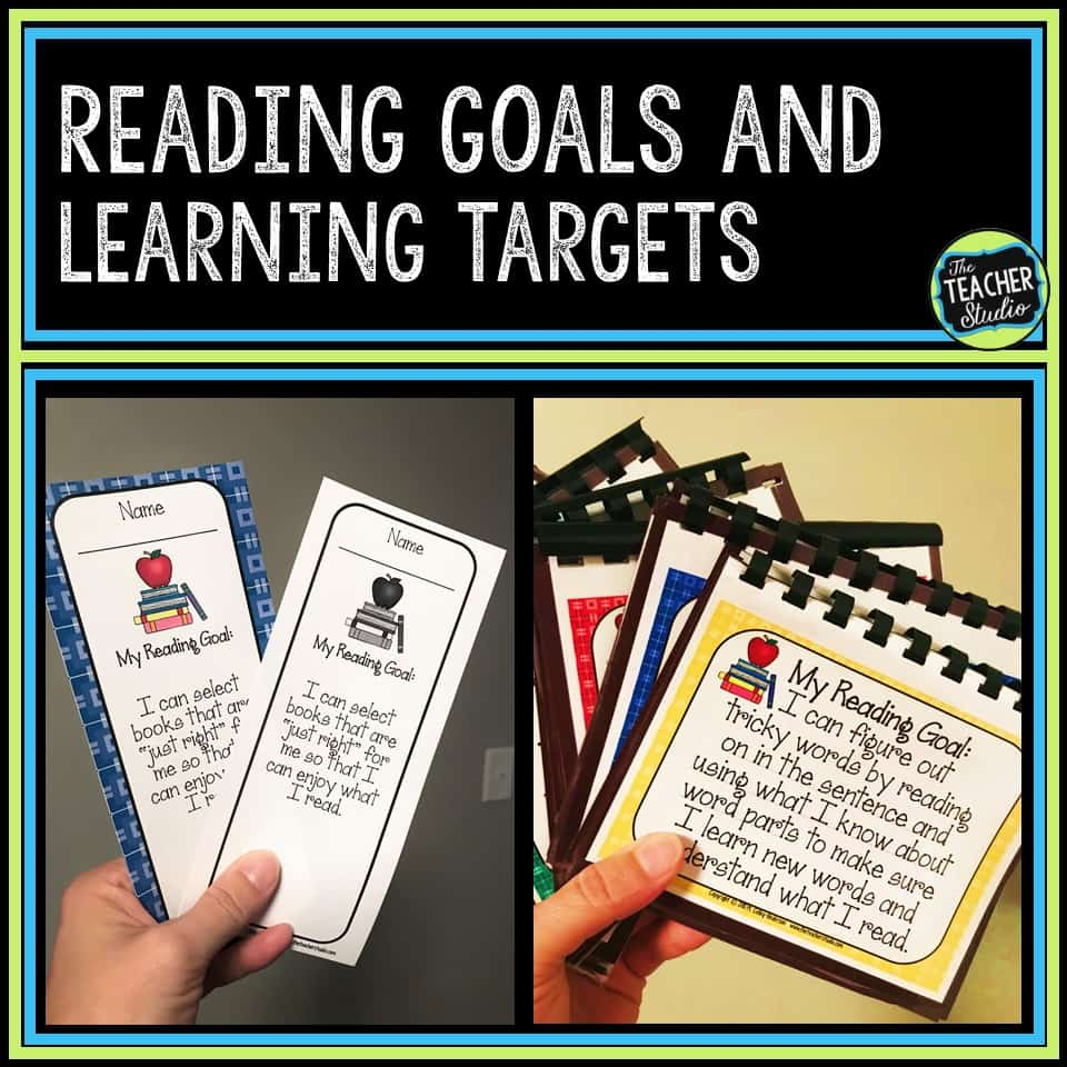 Using these low ink, ready-to-use reading learning targets can help you with your reading lessons and planning!