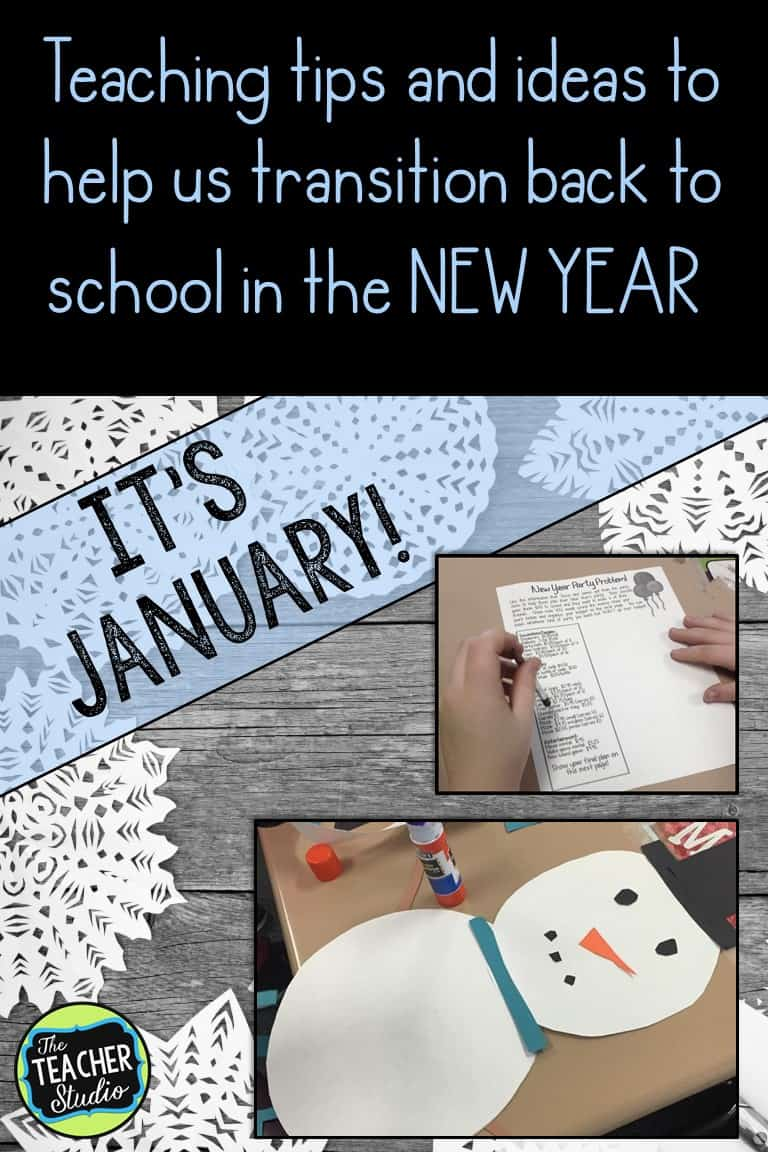 january teaching ideas