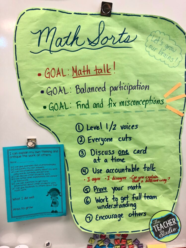 math sorts, teaching angles, accountable talk, math talk, standards for mathematical practice, math practice standards