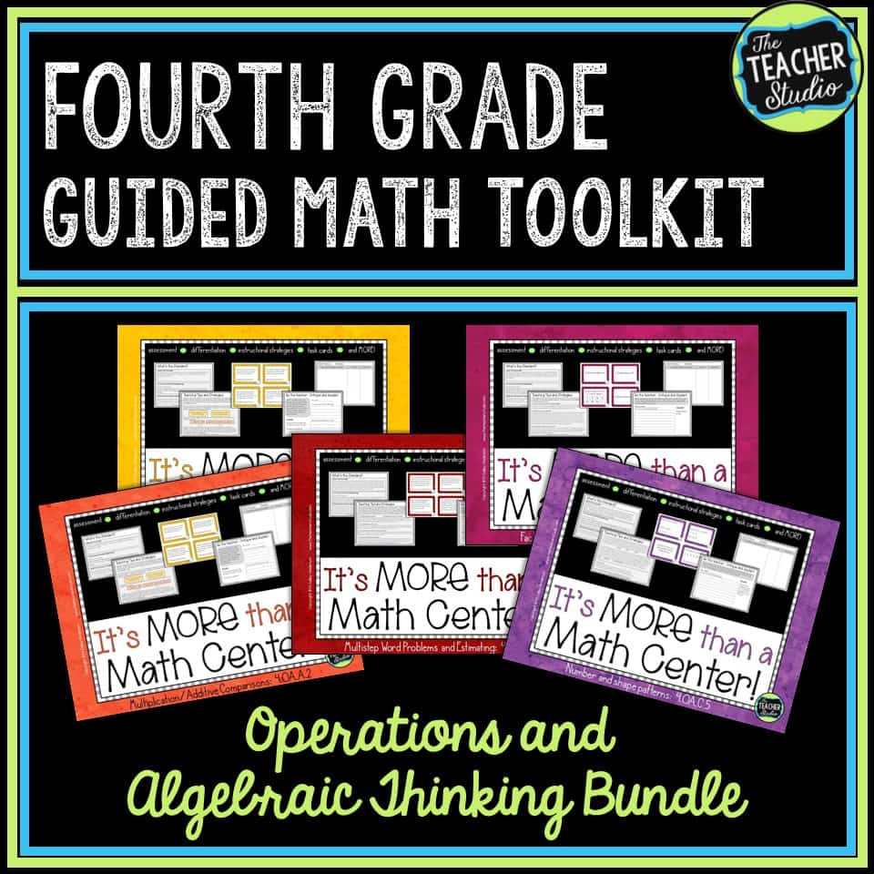 This resource can help you learn how to better teach the math standards related to operations and algebraic thinking for fourth grade.