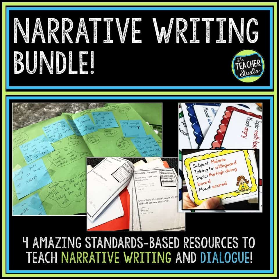 teaching narrative writing lessons and activities