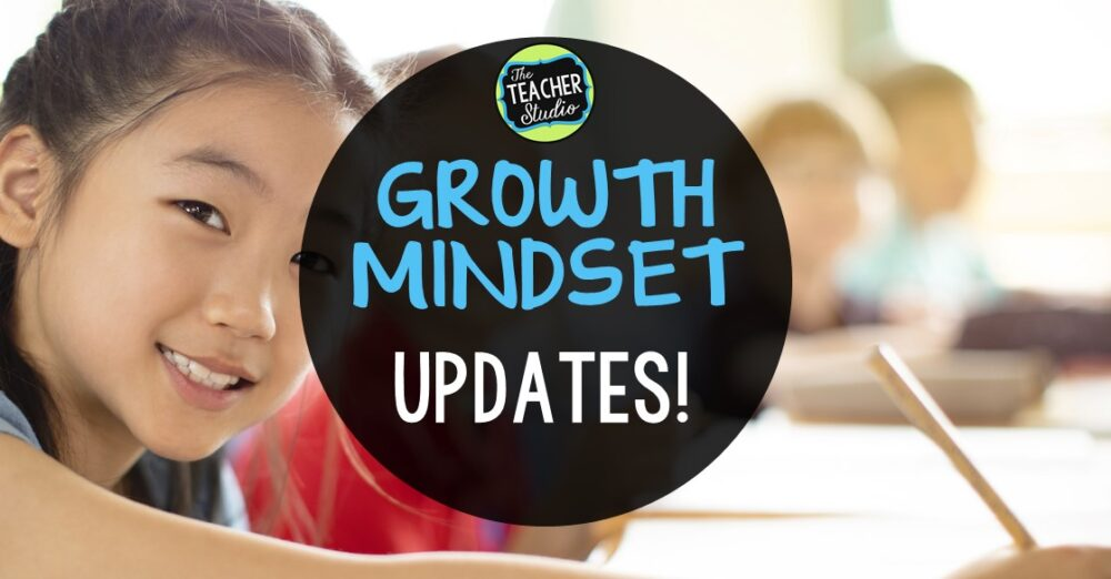 Blog post with tons of growth mindset teaching ideas and activities