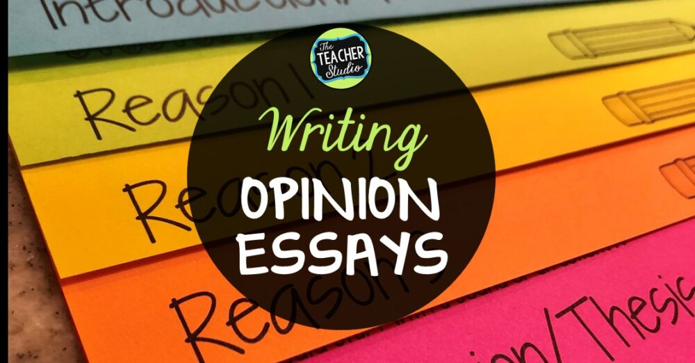 Writing opinion essay tips for using graphic organizers