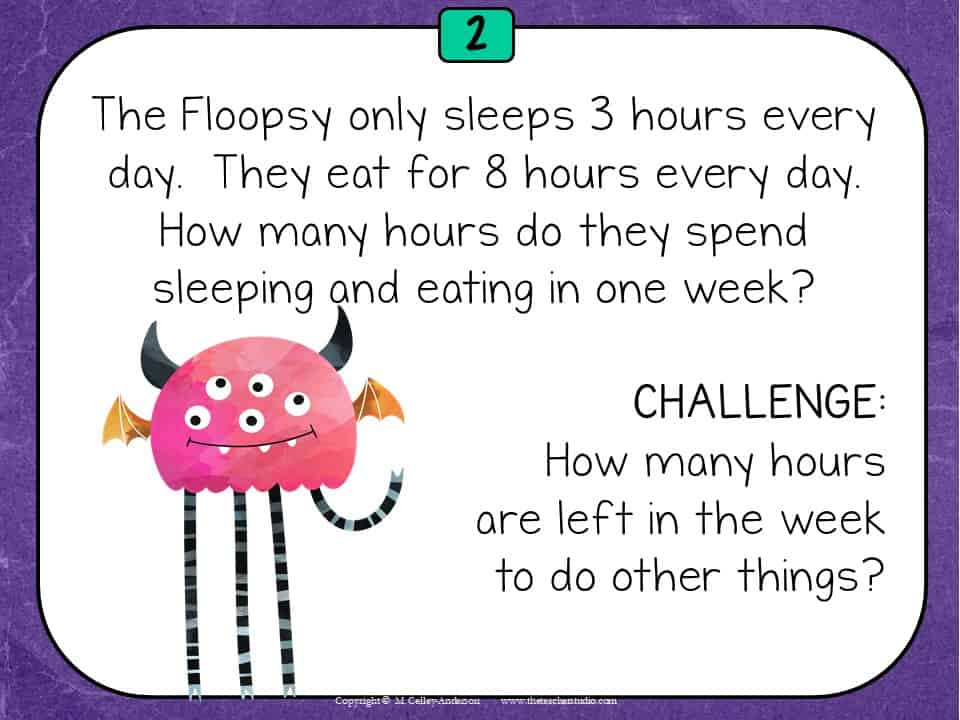 Multi-step word problem work is so important!