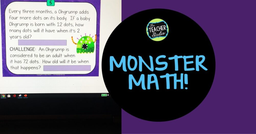 Get inspired with Monster Math!