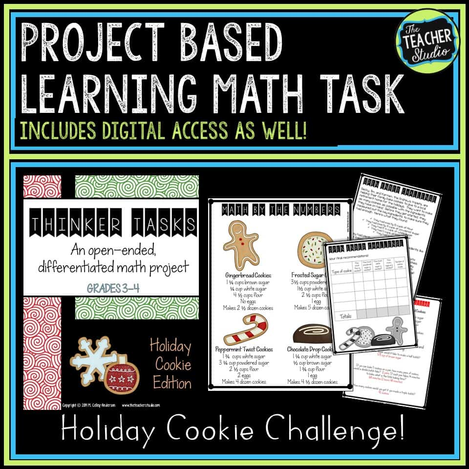 Project Based Learning Fraction Task