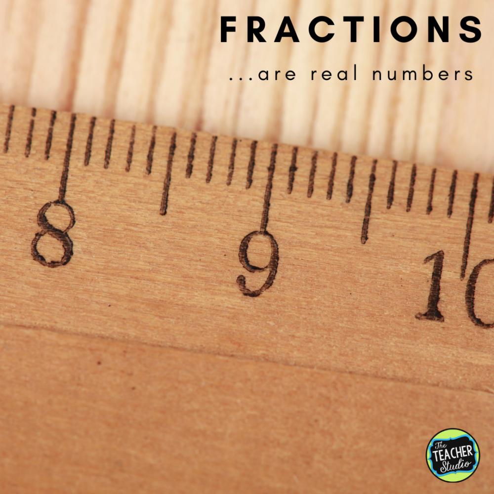 Fraction ideas for teaching