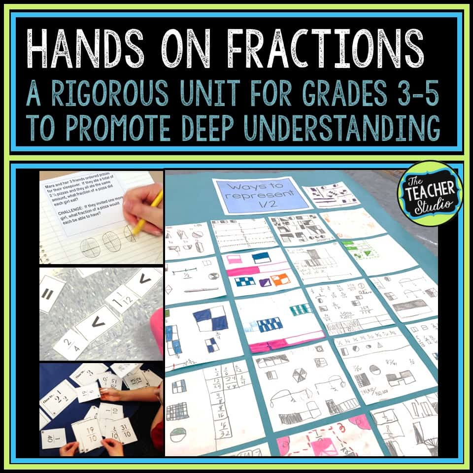 Fraction lessons and activities