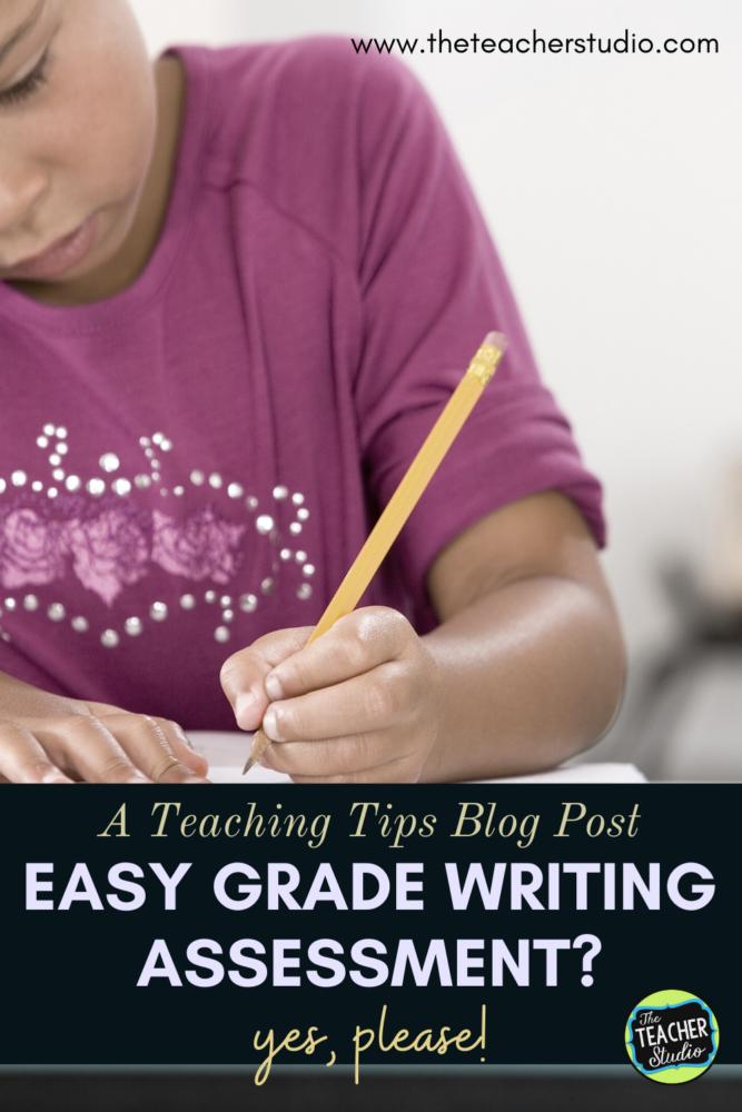 Easy Grade Writing Assessment