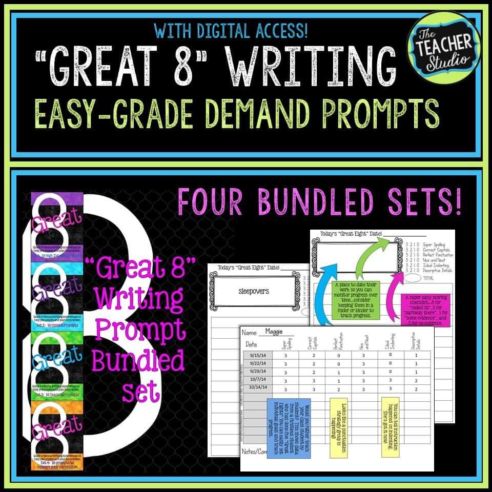 Quick Writing Assessment bundle