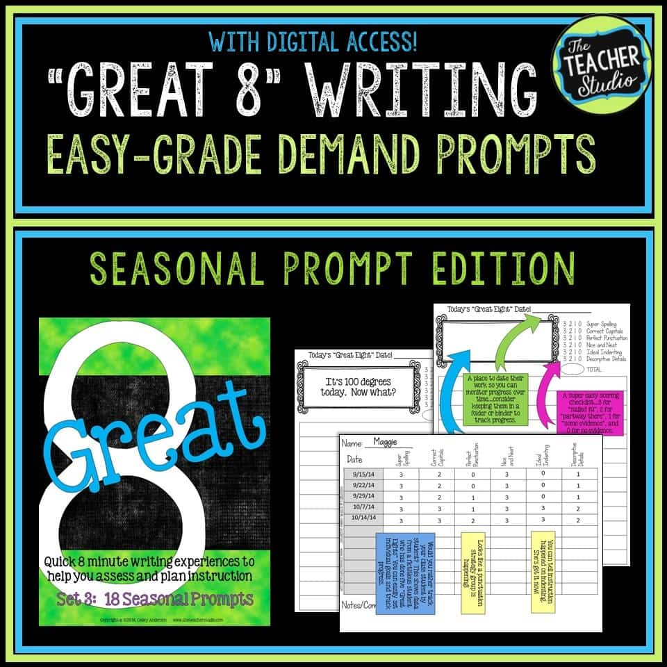 seasonal writing prompts