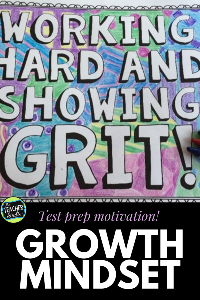 Test prep and growth mindset