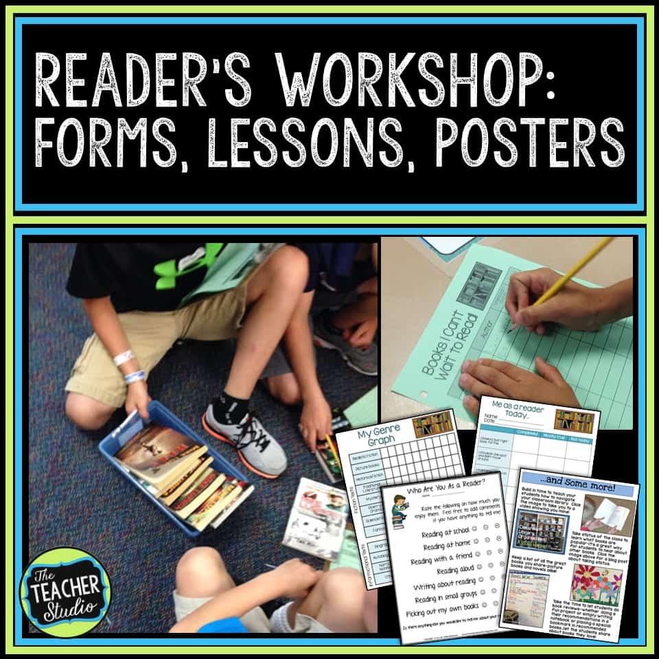 reader's workshop lessons, reader's workshop resources