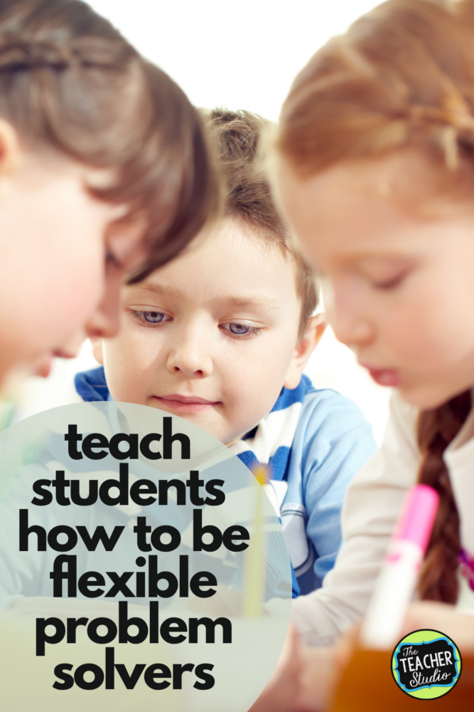 Teach flexible thinking as a part of growth mindset