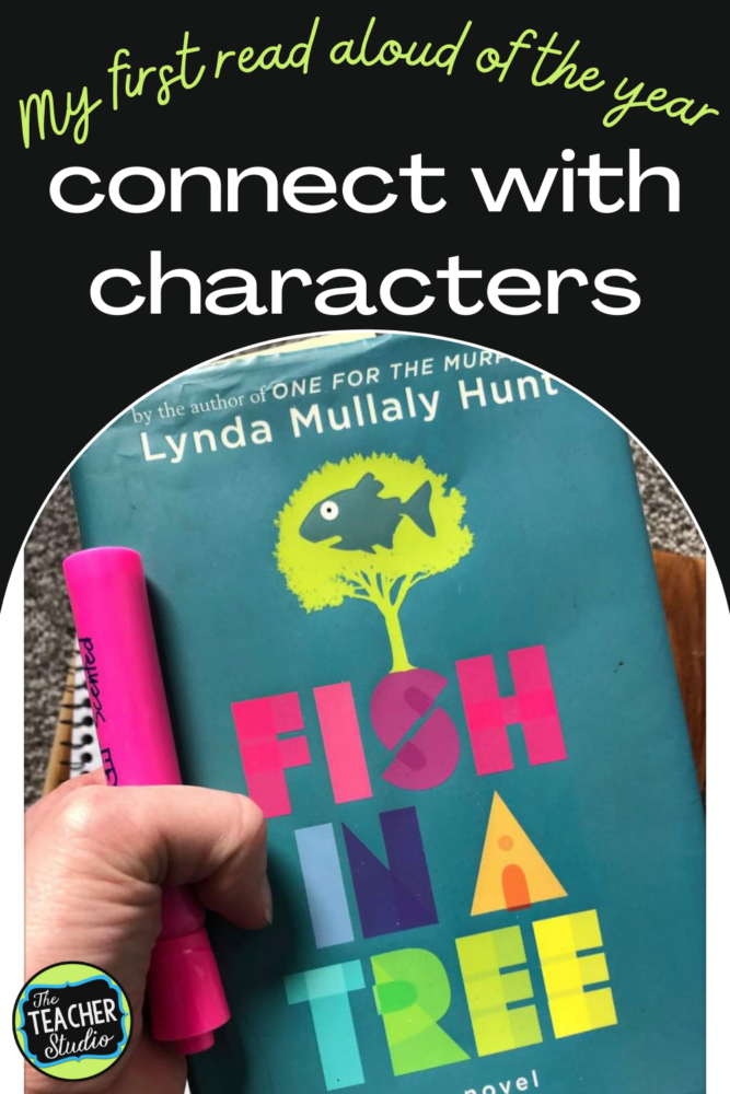 Using Fish in a Tree to connect with characters