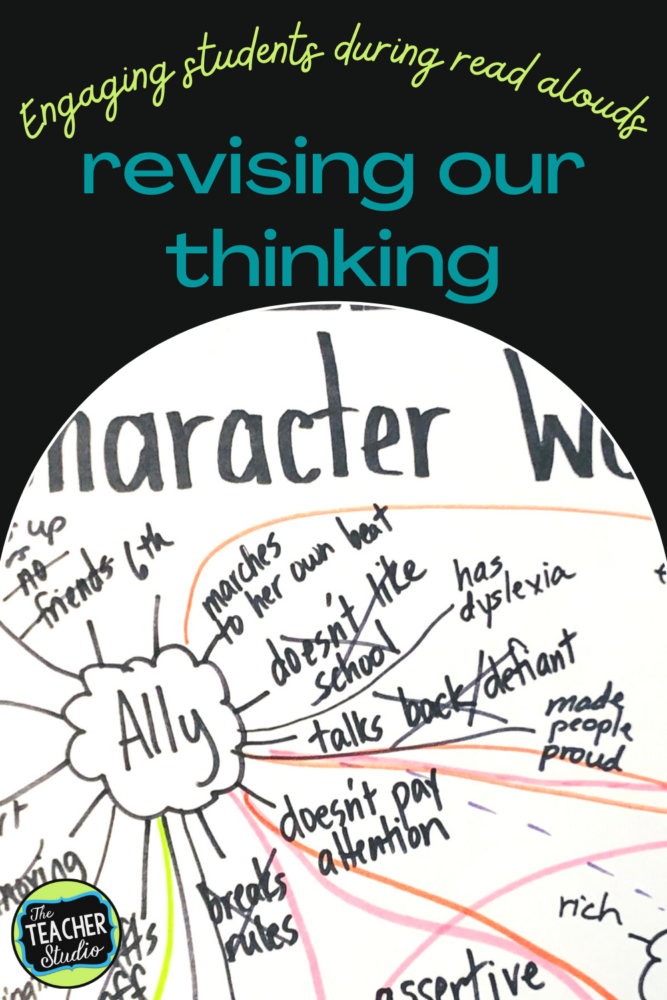 revising our thinking with read alouds