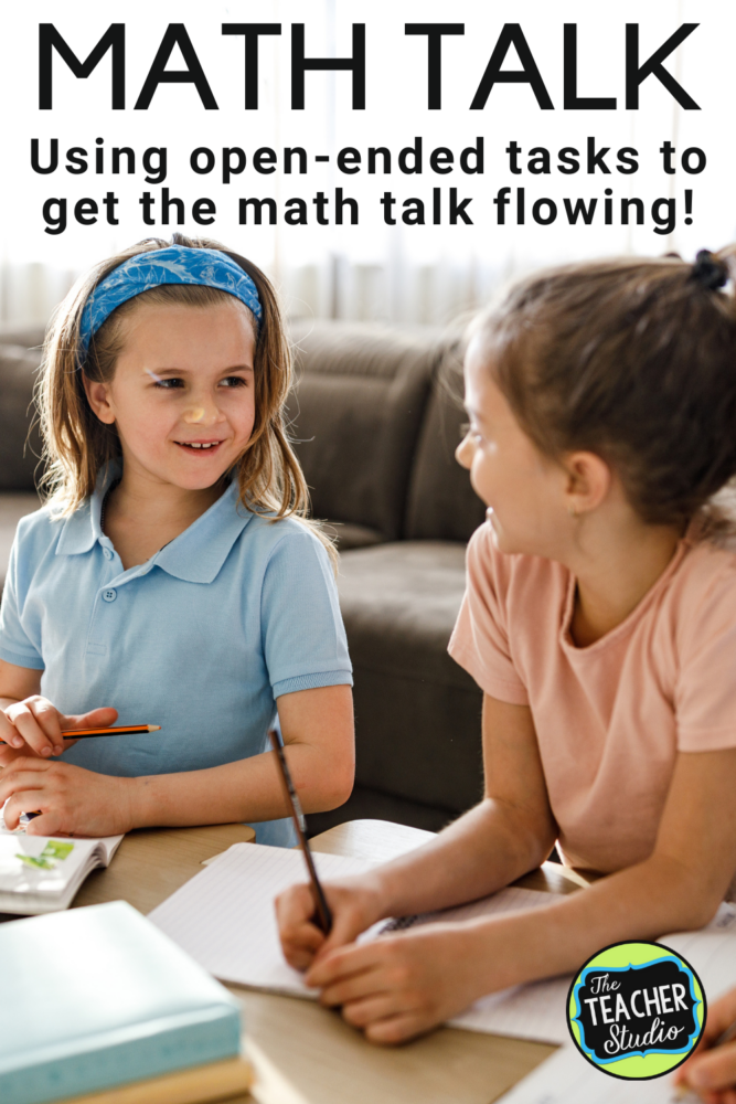 Increasing math talk