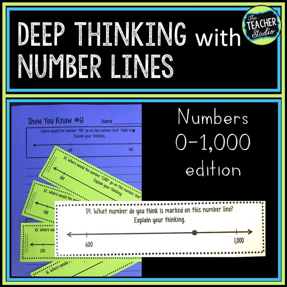 fourth grade number line activities