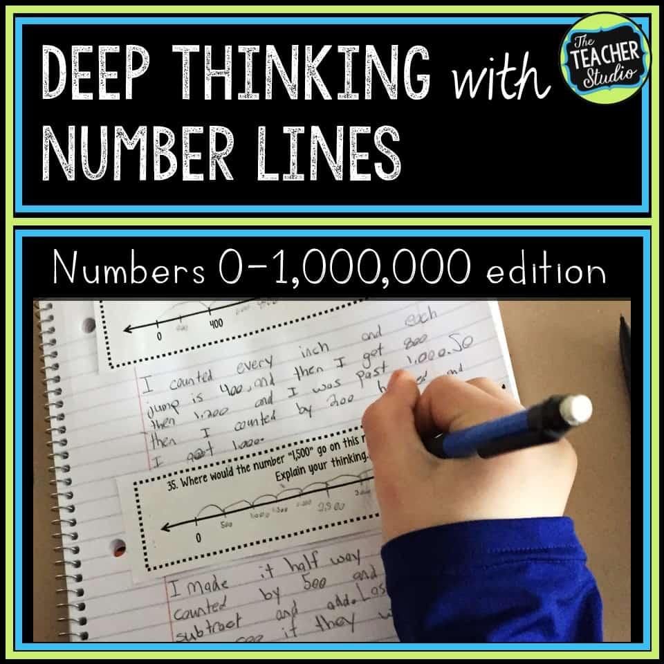 number line printables